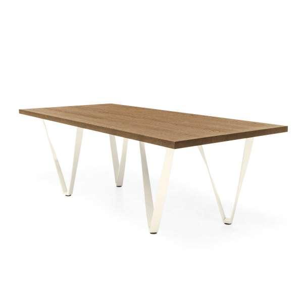 Table design en métal et bois - Wave 8 - 9
