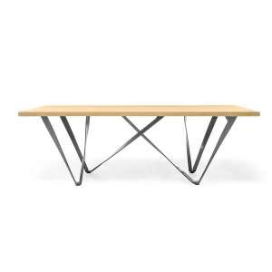 Table design en métal et bois - Wave 10