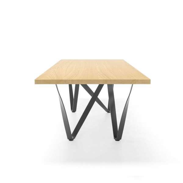 Table design en métal et bois - Wave 12 - 6