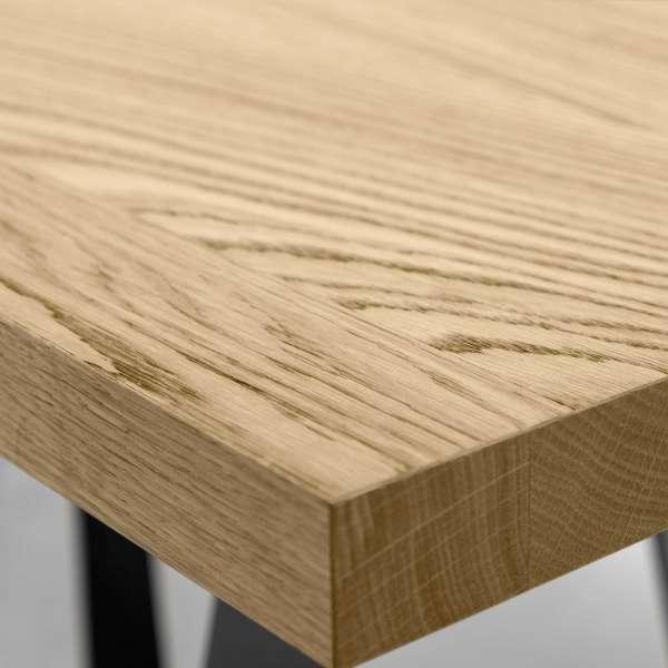 Table design en métal et bois - Wave 14 - 10