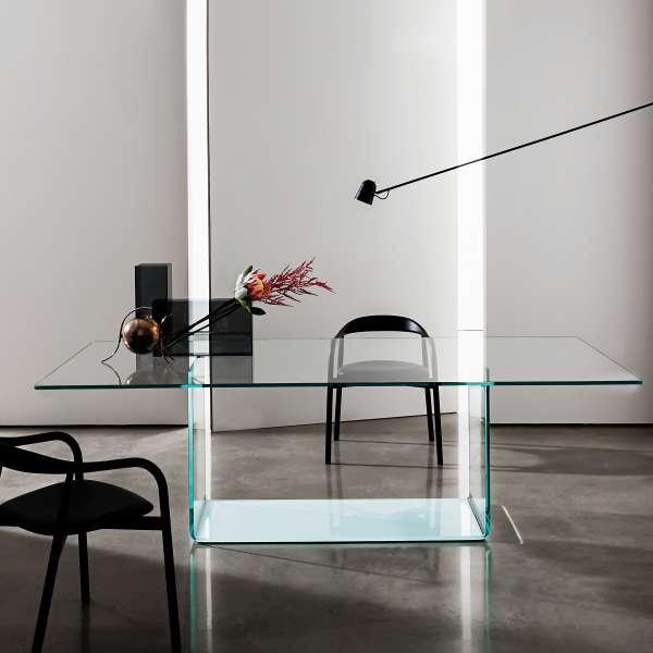 Table de salle à manger design en verre - Valencia Sovet® - 1