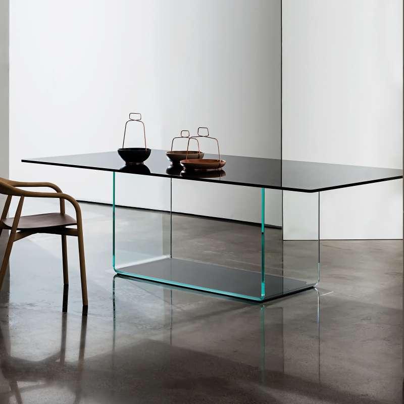 Table De Salle A Manger Design En Verre Valencia Sovet