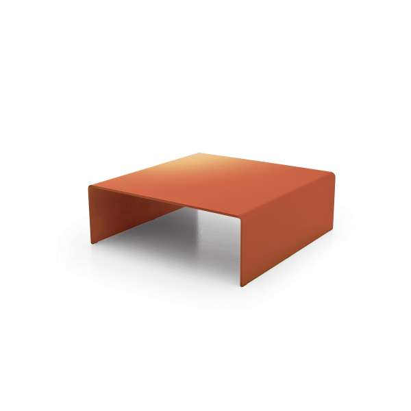 Table basse design carrée en verre - Bridge Sovet® - 1