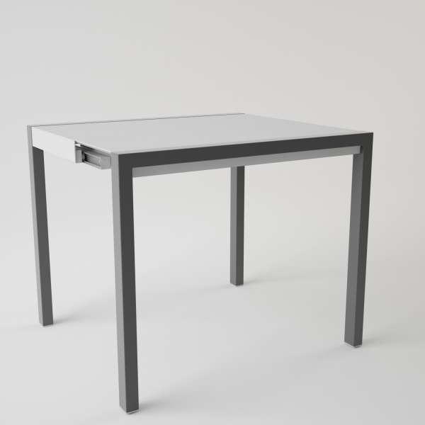 Table en verre extensible pour petit espace - Concept Minor 5 - 2