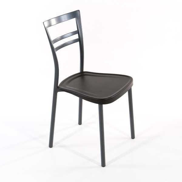 Chaise de cuisine en polypropylène et métal - Go 1419 2 - 2