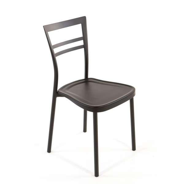 Chaise de cuisine en polypropylène et métal - Go 1419 15 - 15