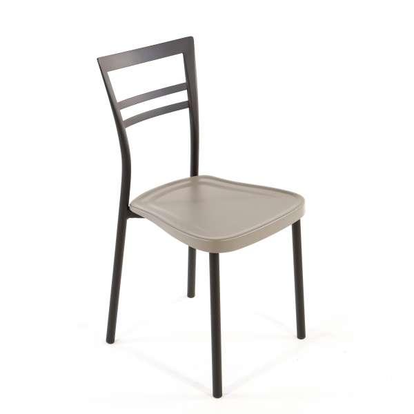 Chaise de cuisine en polypropylène et métal - Go 1419 16 - 16