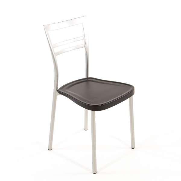 Chaise de cuisine en polypropylène et métal - Go 1419 17 - 17