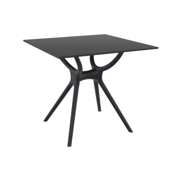Table carrée petit espace en stratifié et polypropylène - Air 2 - 5