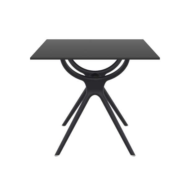 Table carrée petit espace en stratifié et polypropylène - Air 3 - 6