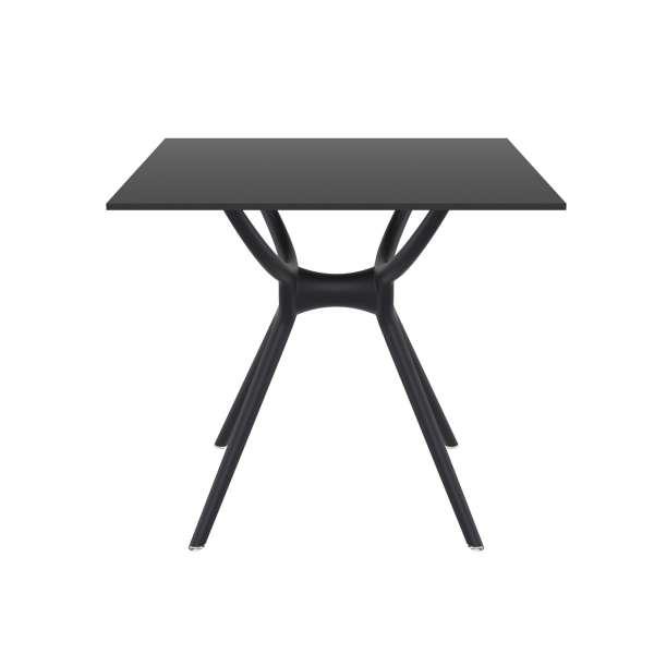 Table carrée petit espace en stratifié et polypropylène - Air 4 - 7