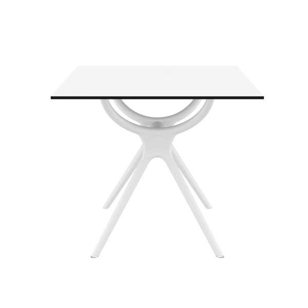 Table carrée petit espace en stratifié et polypropylène - Air 6 - 9