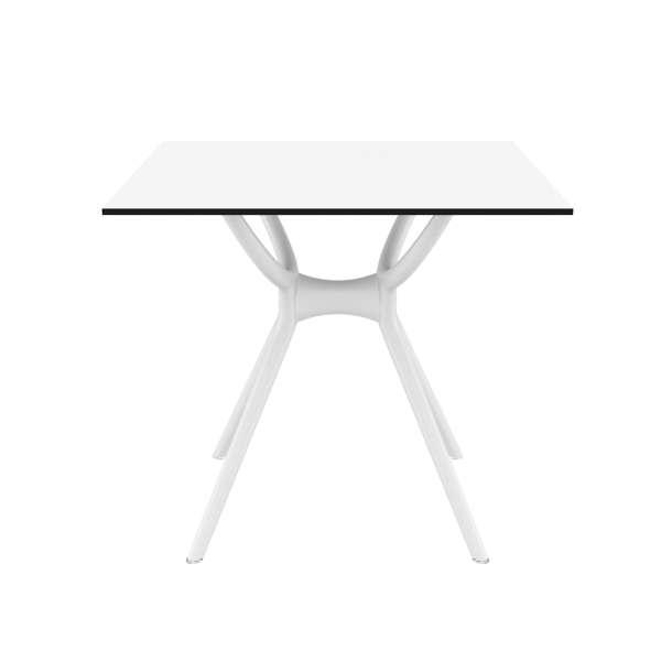 Table carrée petit espace en stratifié et polypropylène - Air 7 - 10