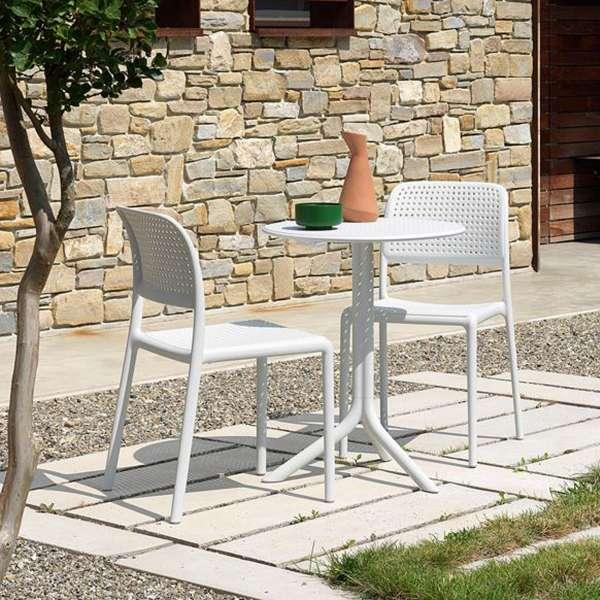 Chaise de jardin en polypropylène - Bora Bistrot 2 - 1