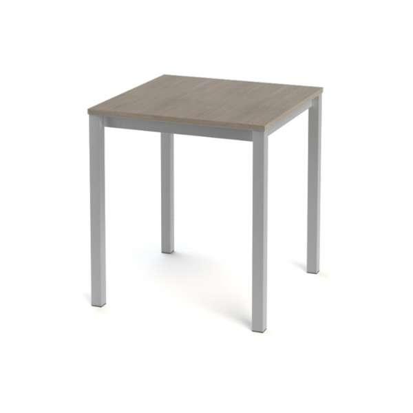 Table snack de cuisine carrée en stratifié - Vienna 3 - 5
