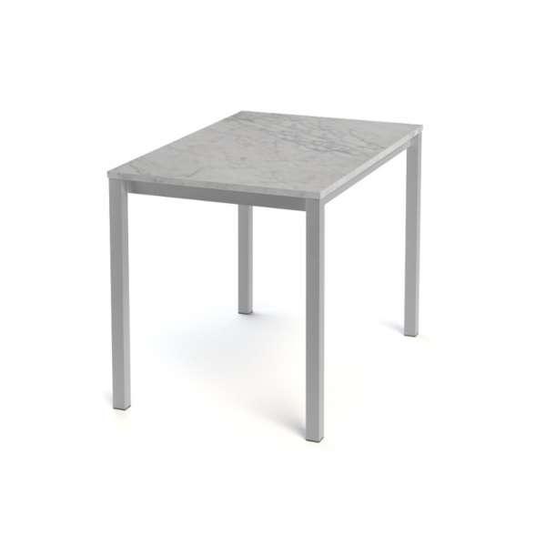 Table snack de cuisine rectangle en stratifié - Vienna 3 - 4