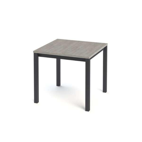 Table de cuisine carrée en stratifié - Vienna 3 - 5