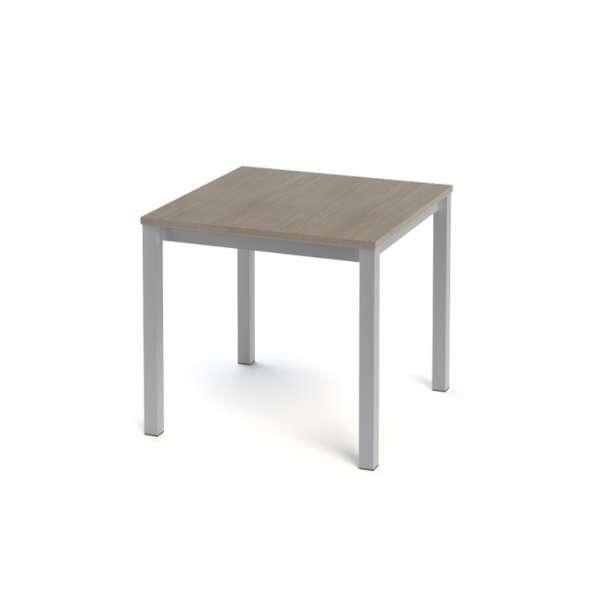 Table de cuisine carrée en stratifié - Vienna 5 - 7
