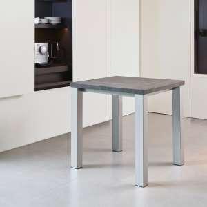 Table de cuisine carrée en stratifié - Quadra