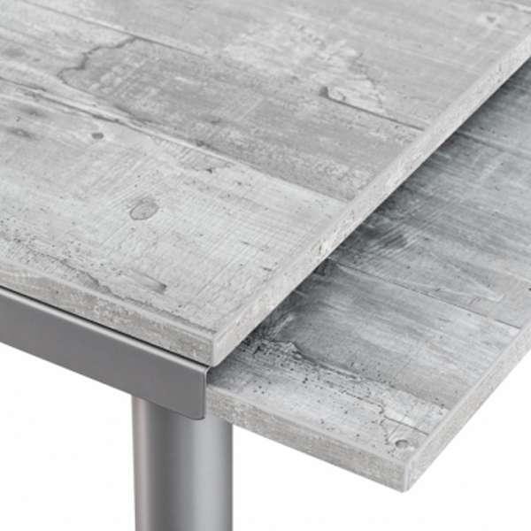 Table de cuisine en stratifié avec rallonges - Basic 4 - 4