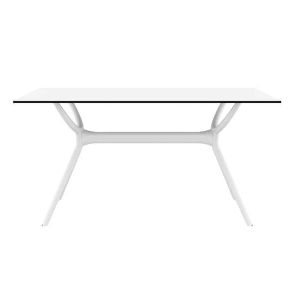 Table de terrasse rectangulaire en stratifié et polypropylène - Air 2 - 2