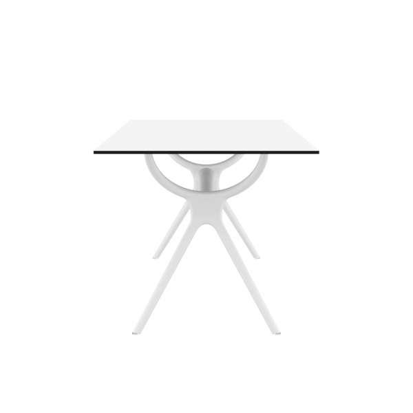 Table de terrasse rectangulaire en stratifié et polypropylène - Air 4 - 4
