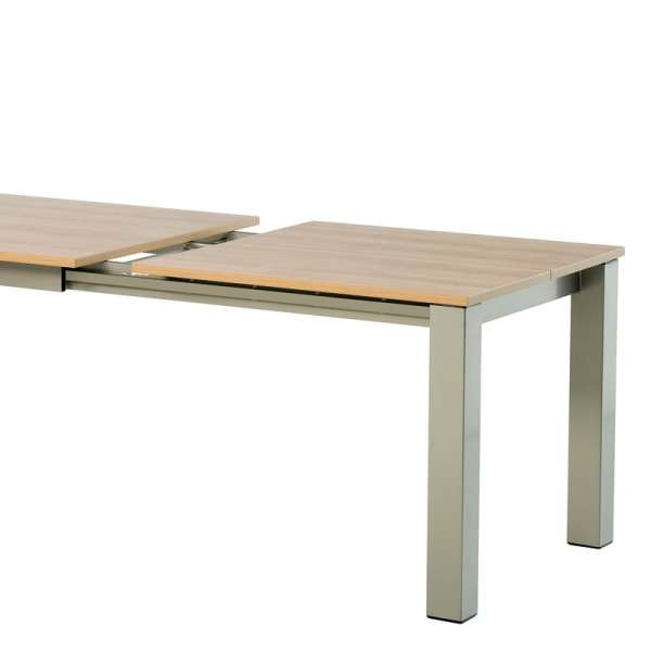 Table de cuisine rectangle extensible en stratifié - Vario 7 - 9