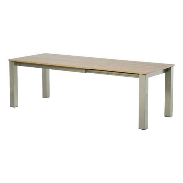 Table de cuisine rectangle extensible en stratifié - Vario 8 - 10