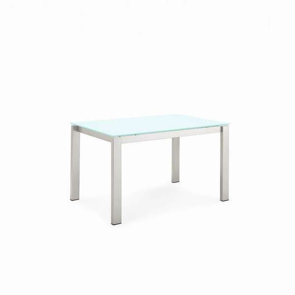 Table snack extensible en verre et métal - Baron Connubia® - 1