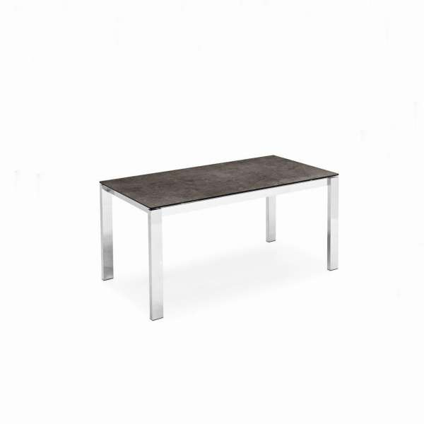 Table extensible en céramique et métal - Baron Connubia® - 1