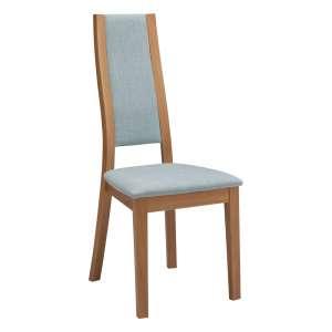 Chaise de salle à manger contemporaine en bois et synthétique – Camélia