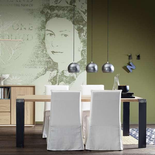 Table style industriel en bois massif et métal - Siviglia - 3