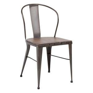 chaise industrielle en métal - 631 2