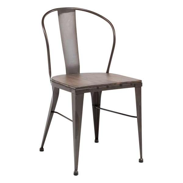 chaise industrielle en métal - 631 2 - 1