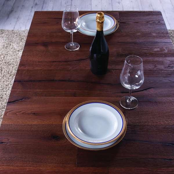Table relevable extensible en chêne - Ulisse - 5