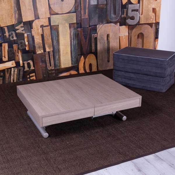 Table modulable en lit en mélaminé N19 et M02 - Tavoletto - 2