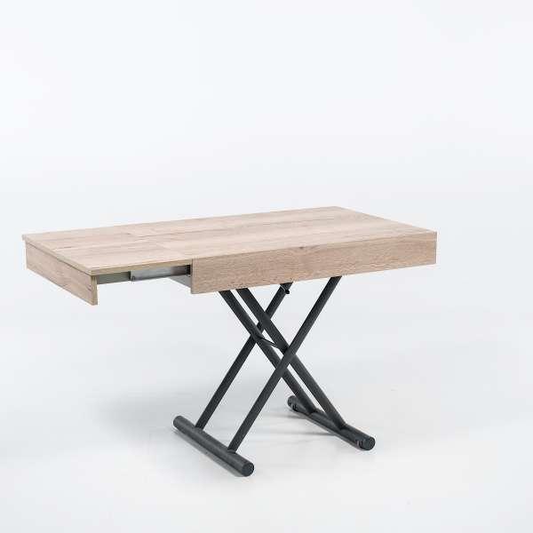 Table réglable en hauteur et extensible en mélaminé - Compact  2 - 10
