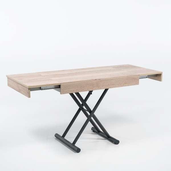 Table réglable en hauteur et extensible en mélaminé - Compact 3 - 11