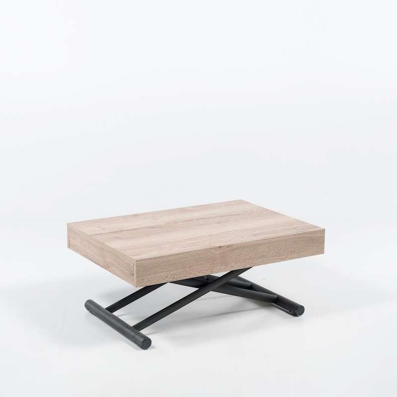Table Reglable En Hauteur Et Extensible En Melamine Compact 4