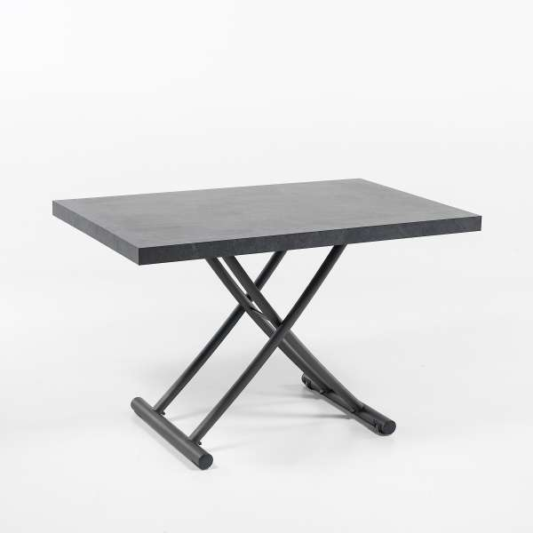 Table relevable en mélaminé ardoise N24 - Géniale - 12