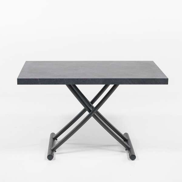 Table basse relevable en mélaminé ardoise N24 - Géniale 2 - 13