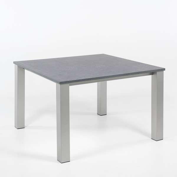 Table de cuisine carrée en stratifié et métal - Quinta