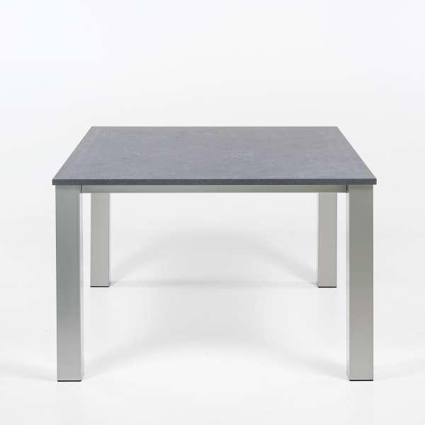 Table carrée en métal et stratifié - Quinta - 2