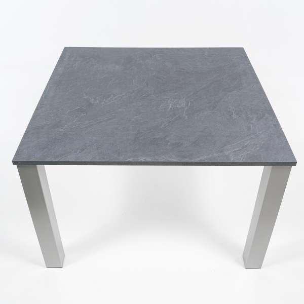 Table de cuisine carrée en stratifié - Quinta - 3