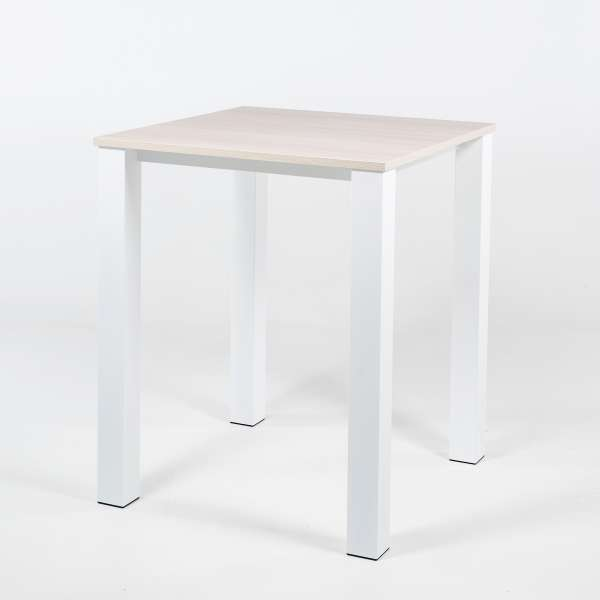 table haute carree chaise
