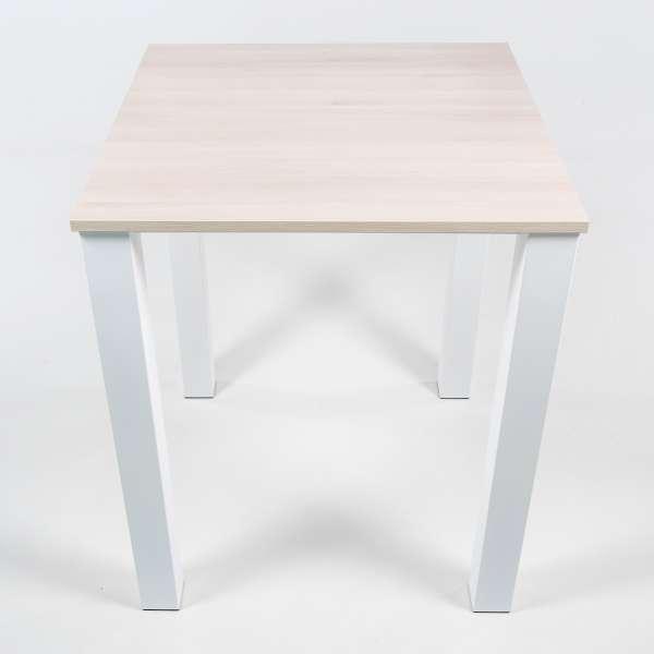 Table de cuisine carrée en métal et stratifié - Quinta - 3