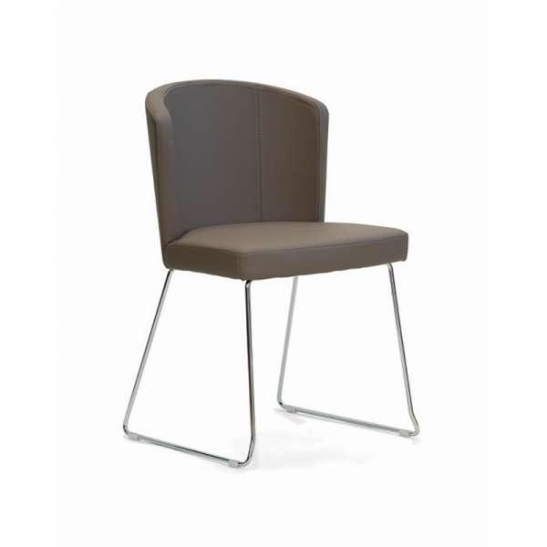 Chaise de salle à manger contemporaine - Doris S - 2
