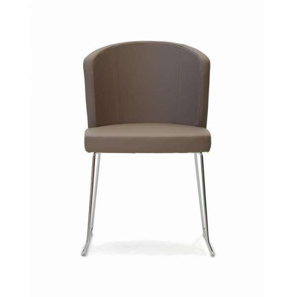 Chaise moderne en vinyle - Doris S - 3