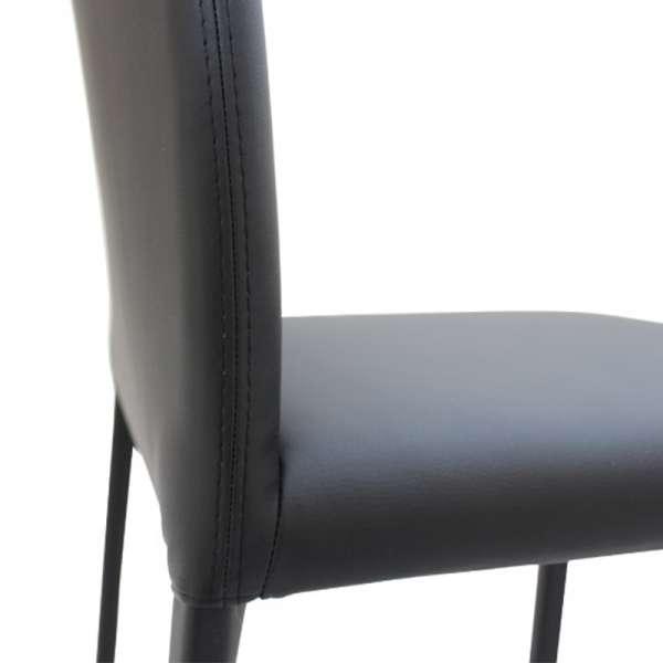 Chaise de séjour en vinyle - Marion H - 3