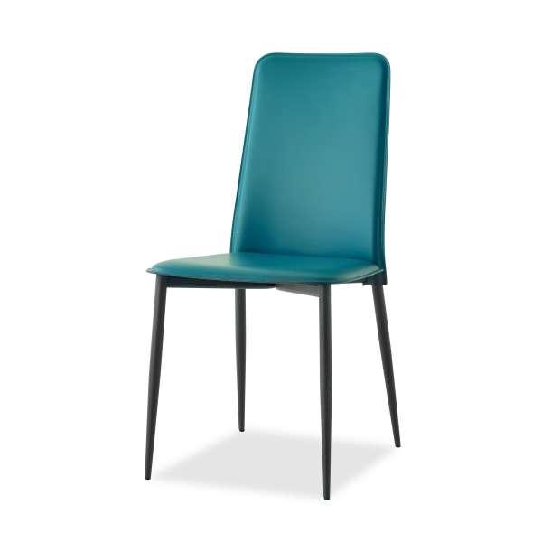Chaise en croûte de cuir -  Ely-Plus 11 - 12